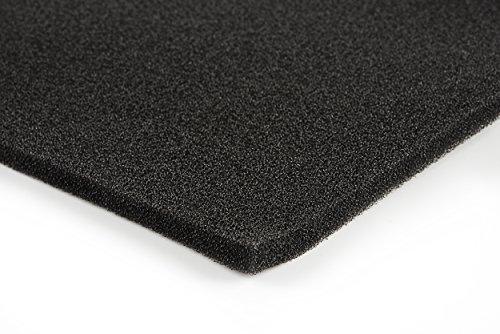 Filterschaum/Filtermatte für Haushalt, Rasenmäher, Motorsäge 1 Stück Platte ca. 1 x 2 m //8 mm dick