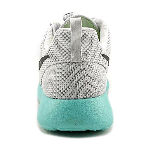 Mens Nike Rosherun Puro Platino / Antracite Calypso Dimensione Sintetica