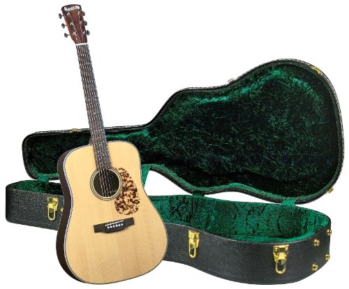 Blueridge BR-160A Historic Craftsman Series Dreadnought Guitar with Deluxe Hardshell Case ()