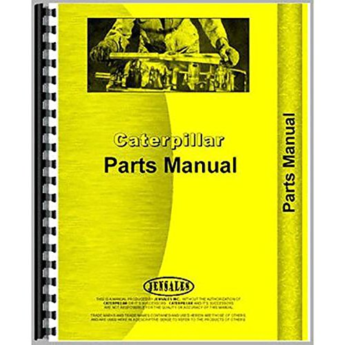Caterpillar Tractor Parts - For Caterpillar 10 Tractor Parts Manual (New)