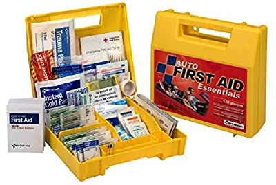 Pac-Kit by First Aid Only Auto First Aid Kit, 138-Piece Kit from First Aid Only