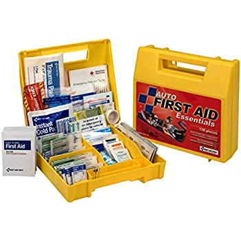 first aid only auto first aid kit 138 piece kit health personal care. Black Bedroom Furniture Sets. Home Design Ideas