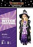 Spooktacular Creations Fairytale Witch Cute Witch Costume Deluxe Set for Girl.