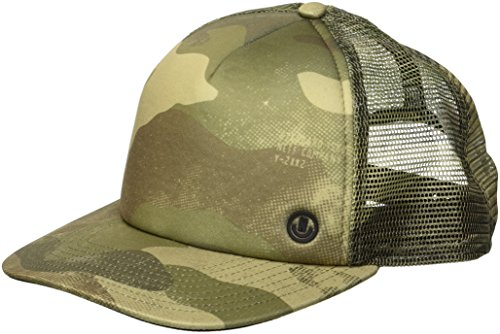 sh Hat-Flat Billed Trucker Cap, camo, One Size ()