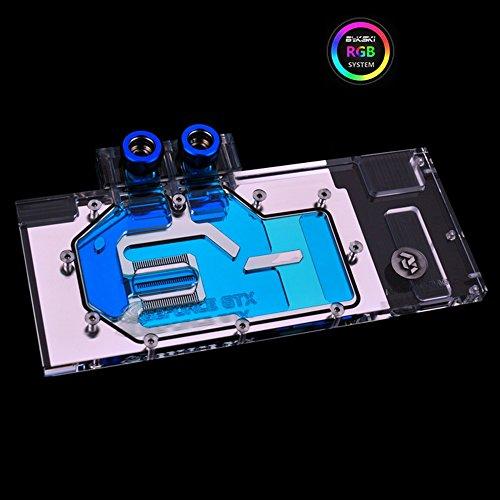 Bykski RGB VGA GPU Water Cooling Block for GTX1080 1080ti GTX 1070 Titan XP Titan X M6000