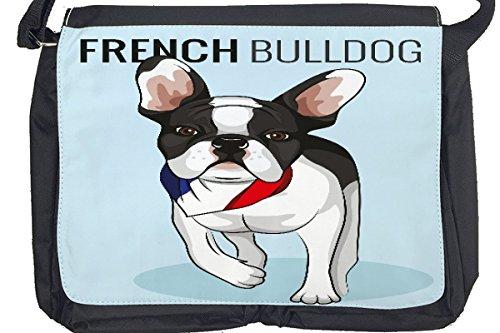 Borsa Tracolla Ricovero Animali bulldog francese Stampato