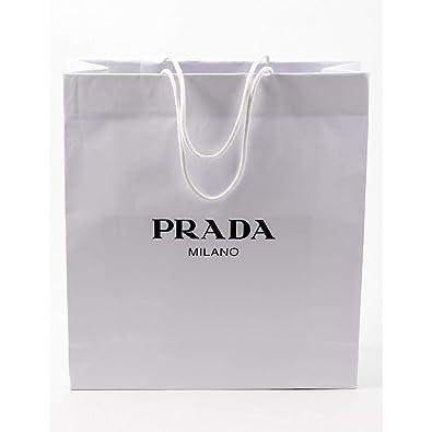 99dbde5fb48f Prada Small Gift Paper Shopping Bag: Amazon.co.uk: Shoes & Bags