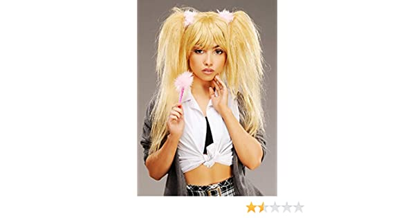 Britney Spears estilo peluca rubia de estrella del Pop: Amazon.es ...