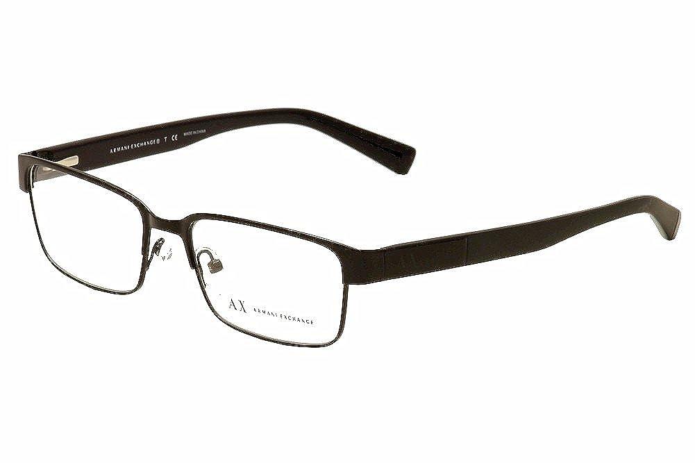 cdb216c01d28 Amazon.com  Armani Exchange AX1017 Eyeglass Frames 6000-54 - Black  AX1017-6000-54  Shoes