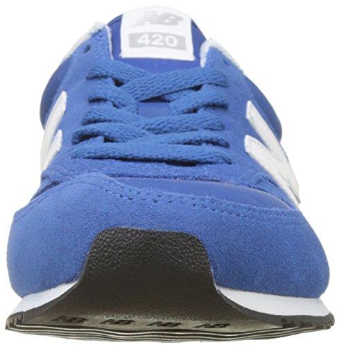 New Balance U420v1, Sneaker Unisex – Adulto Blu (Blue/White)