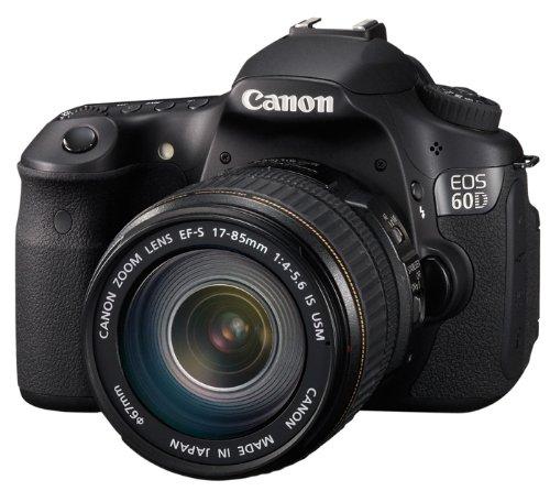 Canon EOS 60D SLR Fotocamera Digitale Reflex 18 Megapixel + Obiettivo EF-S 18-135 IS product image