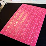 Photo Album Decorate Frame Corners Scrapbook Craft Adhesive Protector Sticker Hot Pink