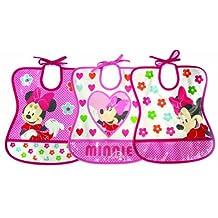 Disney Minnie Mouse Bib Assorted Designs