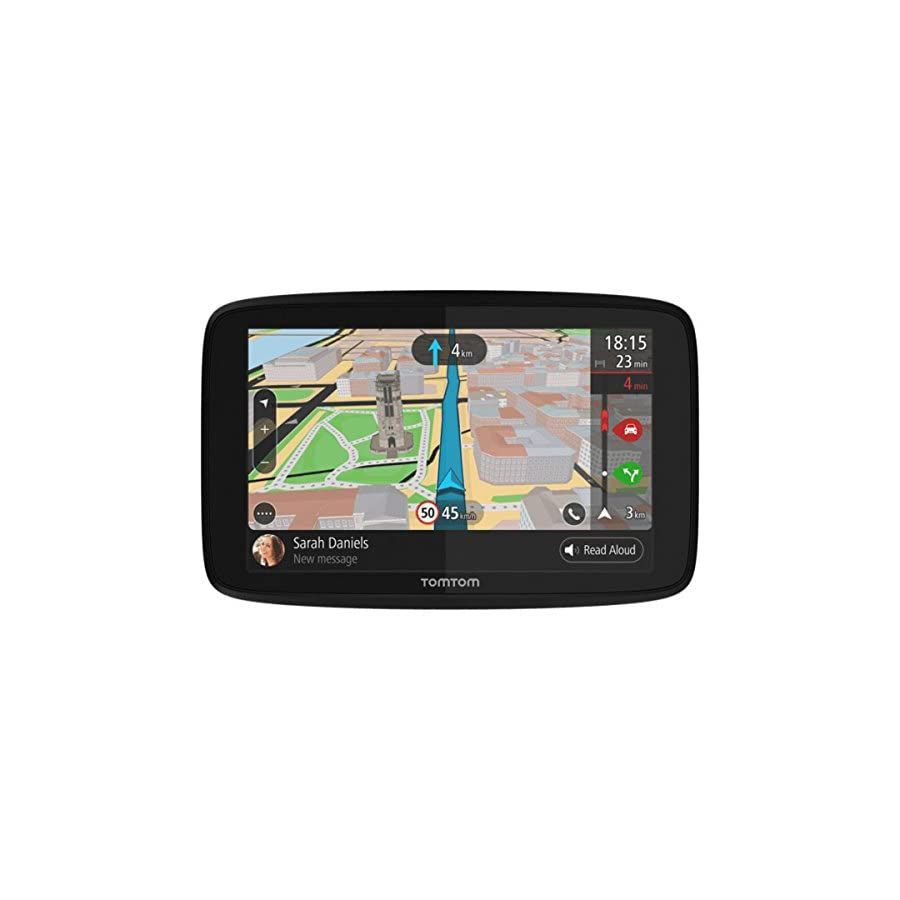 """TomTom Go 620 GPS 6"""" Touch Screen (US CAN MEX) Hardshell Case Dash Mount"""
