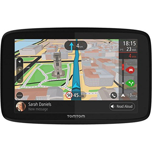 "TomTom GO 620 GPS 6"" Touch Screen (US CAN MEX) with Hardshell Case and Dash Mount"