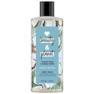 Love Beauty And Planet Radical Refresher Body Wash Coconut Water & Mimosa Flower 16 oz