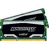 Ballistix Sport  16GB Kit 8GBx2 DDR3 1600 MT/s PC3-12800 CL9 at 1.35V SODIMM 204-Pin Memory BLS2C8G3N169ES4