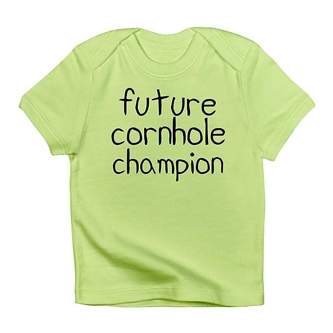 c71c5ce6e332 Amazon.com: CafePress Future Cornhole Champion Baby T-Shirt: Clothing