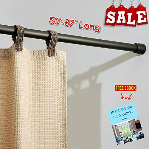 RV Expandable Shower Curtain Rod 50