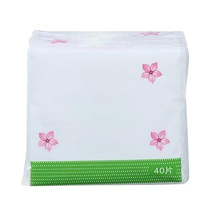 Vococal® 1 Rollo desechables Limpieza Facial algodón tela no tejida Manopla cosméticos – Viajes portátil