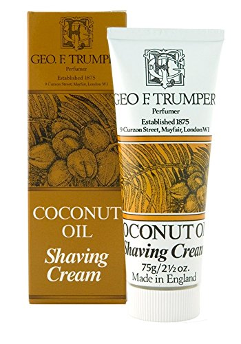 Trumper Almond Shaving Cream - Geo F. Trumper Coconut Oil Soft Shaving Cream 75 g cream