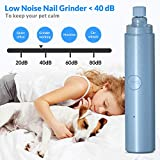 Pet Nail Grinder Kit for Dogs, Dual LED 2-Speed