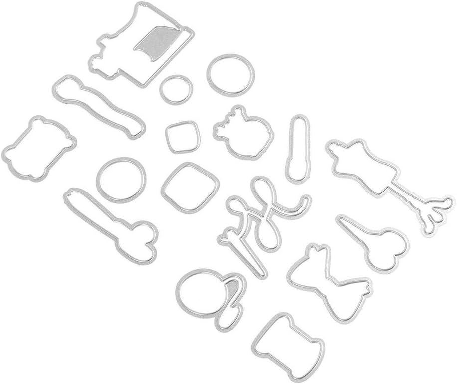 bobine Matrices de d/écoupe en m/étal pour la fabrication de cartes bouton scrapbooking couture pochoir bricolage /épingle
