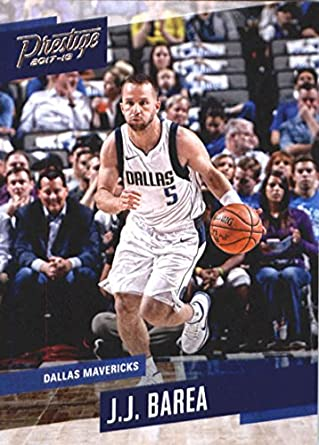 2017-18 Panini Prestige #80 J.J. Barea Dallas Mavericks Basketball Card