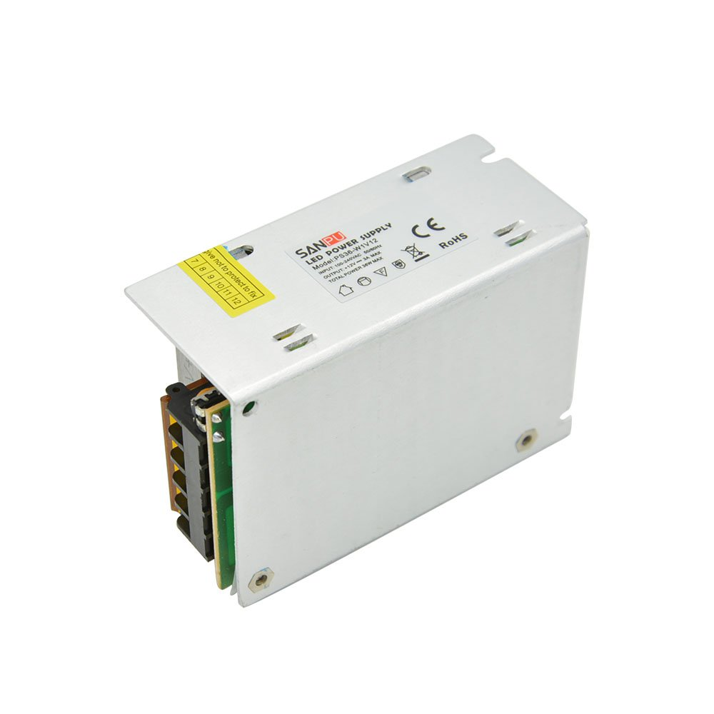 EMC EMI EMS SMPS 36W Switching Power Supply Unit 12VDC 3A LED Driver 12 V Converter 110V 220V AC-DC 12V Transformer 12Volt SANPU PS36-W1V12 EMC
