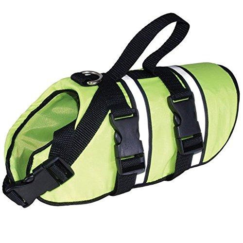 L Grande Finale Green Float Coat REFLECTIVE Life Jacket Float Safety Vest For LARGE Dogs (L), , back length (B) 54 cm, chest size (E) 50 80 cm