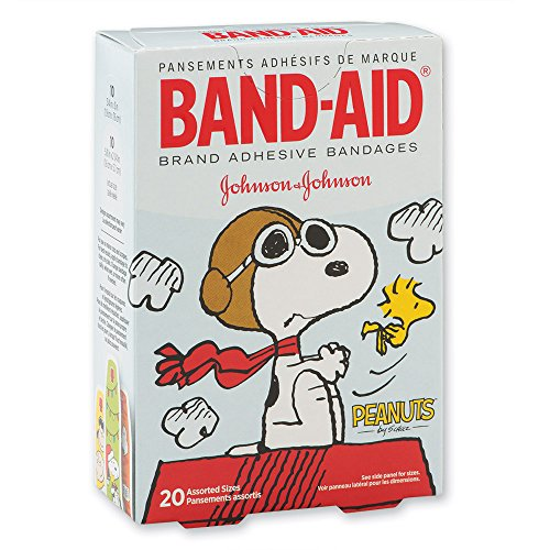 Band-Aid® Peanuts Bandages - First Aid Supplies - 20 per Pack