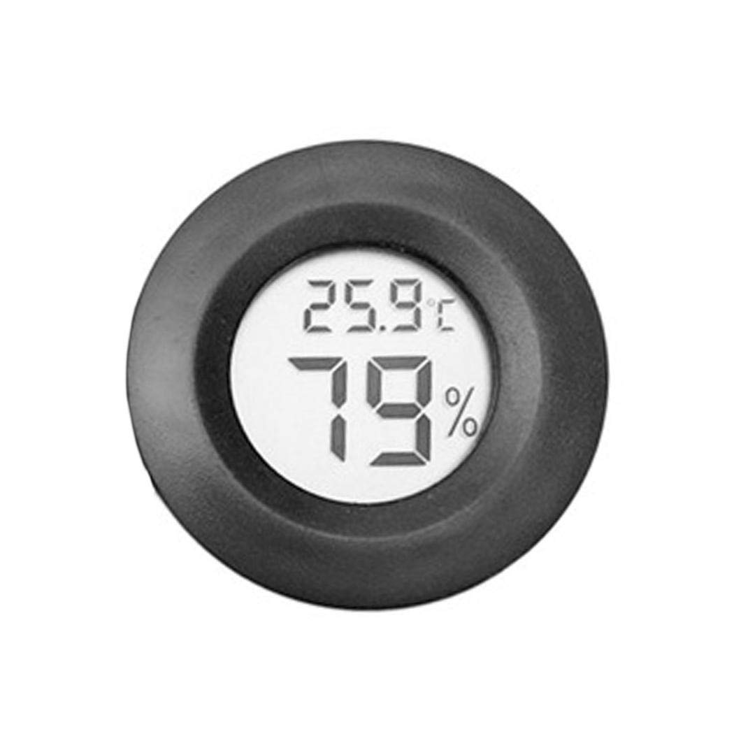 ThinIce Digital Temperature and Humidity Meter LCD Mini Thermo-Hygrometer with Dew Point and Wet Bulb Temperature Hygrometer for Industry, Agriculture, Meteorology and Daily Life