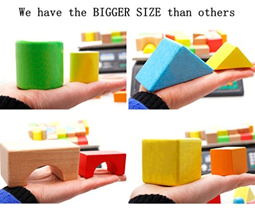 Buy wooden blocks for toddlers