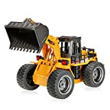 Goolsky 2.4G 6 CH RC Tractor Full Functional Front Loader Remote Control Bulldozer