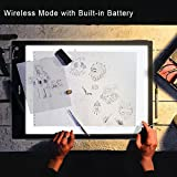Huion LB3 Battery USB Power Tracing Light Box Wireless Light Table for Drawing