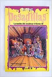 LA NOCHE DEL MUÑECO DIABÓLICO: Amazon.es: R L Stine: Libros