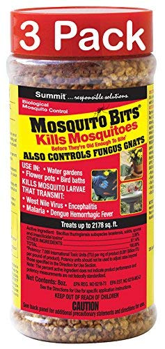 - Summit...responsible solutions Mosquito Dunks 116-12 8-Ounce Quick Kill Mosquito Bits (3)