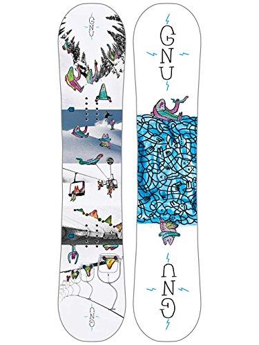 Gnu Recess Asym BTX Boys Snowboard 2018 - 125cm Btx Snowboard