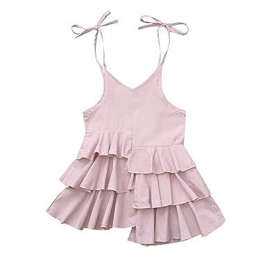 AIni Vestido De NiñA De Verano Vestido De Princesa Bebé Falda De ...