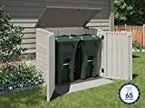 Suncast Horizontal Outdoor Storage Shed for