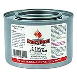 FancyHeat F900 Ethanol Gel Chafing Fuel Can, 2-1/2 Hour Burn, 7 oz (Case of 72)