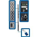 Tripp Lite Monitored PDU, 36 Outlets (C13), 200/208/240V, IEC-309 60A Blue, 6 ft. Cord, 0U Vertical Rack-Mount Power, TAA (PDU3VN6G60C)