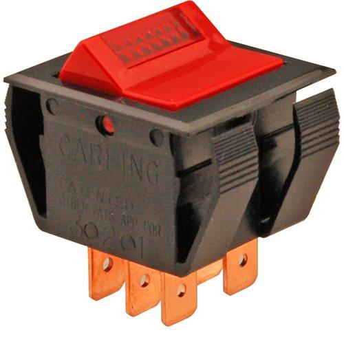 Vulcan Hart 881579 Rocker Switch Fits 15/16 X 1-1/8 Hole Dpst For Vulcan Braising Pan E23 40 421322