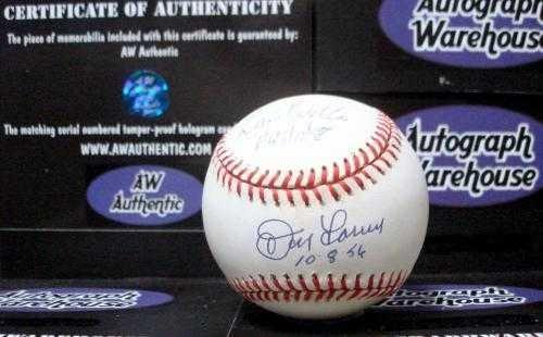 (David Wells Autographed Baseball - Don Larsen - Autographed Baseballs )