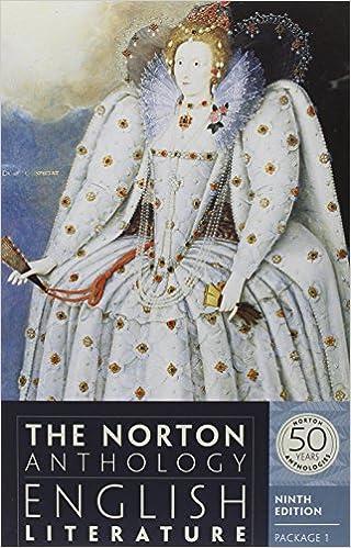 Amazon com: The Norton Anthology of English Literature (Ninth
