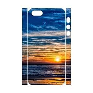 Diy Sunset Beach Phone Case For Sam Sung Galaxy S4 I9500 Cover 3D Shell Phone JFLIFE(TM) [Pattern-4]