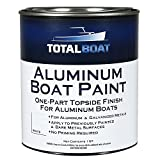 TotalBoat Aluminum Boat Paint (White, Quart)