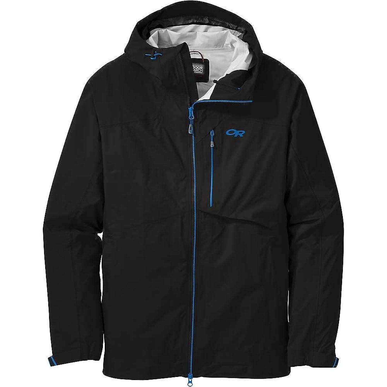 アウトドアリサーチ アウター ジャケットブルゾン Outdoor Research Men's Bolin Jacket Black f6b [並行輸入品] B075DZXT15  Large