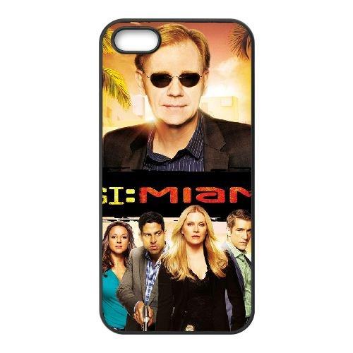 Csi Miami 1 coque iPhone 4 4S cellulaire cas coque de téléphone cas téléphone cellulaire noir couvercle EEEXLKNBC24374
