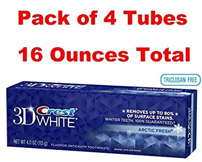 Crest 3D White Arctic Fresh Anticavity Teeth Whitening Toothpaste